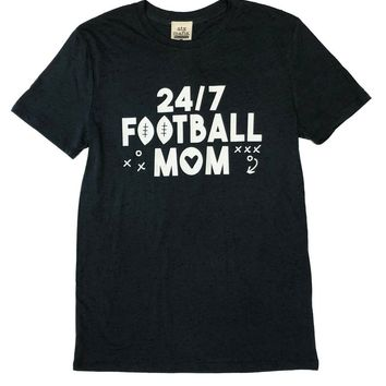 ATX Mafia Charcoal Fleck 24/7 Football Mom