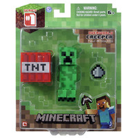 J!NX : Minecraft Creeper Action Figure