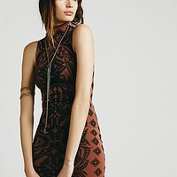 Intimately Womens Jacquard Bodycon