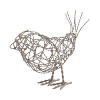 559011 Nickel Scribble Bird - Large