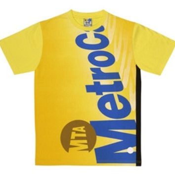 "MTA MetroCard T-shirt ""NYC SUBWAY LINE"""