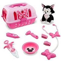 Minnie Mouse Vet Care Set with Figaro Plush   Disney Store