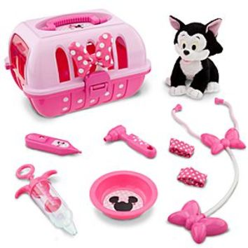 Minnie Mouse Vet Care Set with Figaro Plush | Disney Store