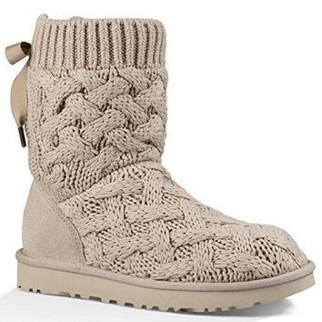 UGG Australia Womens Isla Fabric Round Toe Mid-Calf Cold Weather Boots