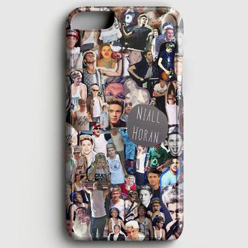 Niall Horan Collage Cartoon iPhone 8 Case