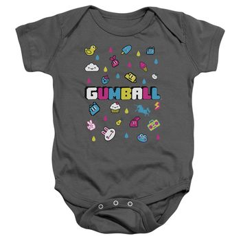 Amazing World Of Gumball - Fun Drops Infant Snapsuit Officially Licensed Baby Clothing