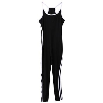 NEW Arrivals Women Sleeveless Fitness Jumpsuit Slimming Skinny Bodysuits Playsuits Hot