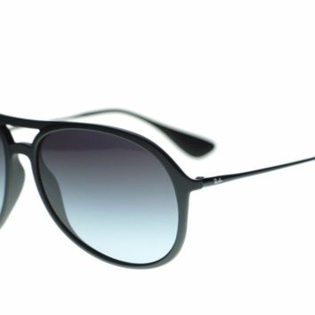 Ray Ban Man's Sunglasses RB42016228G Black Gray Gradient Lens Authentic