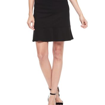 Elastic Ponte Peplum Skirt by Juicy Couture