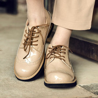 Best Quality Comfortable Lace Up Flat