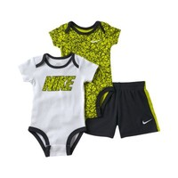 Nike Printed Three-Piece Newborn Boys' Set -