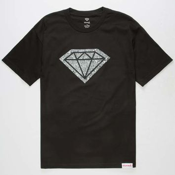 DIAMOND SUPPLY CO. Photo Rock Logo Mens T-Shirt | Graphic Tees
