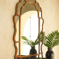 John-Richard Collection?-?Arched Mirror with Eglomise?-?Horchow