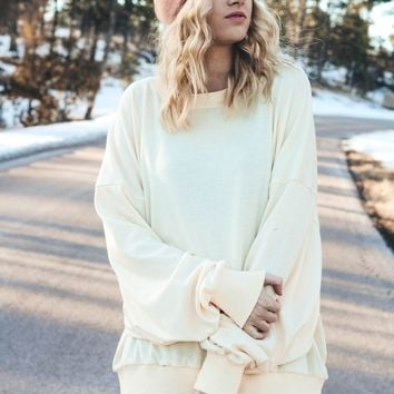 The Essential Pullover (Ivory)