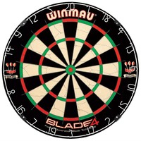 Bristle Dartboard with Unique Wiring System to Deflect Darts