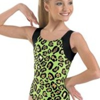 Metallic Jungle Print Leotard - Balera