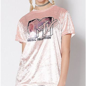 Velvet MTV T Shirt - Spencer's