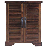Sutton Bar Cabinet, Light Brown