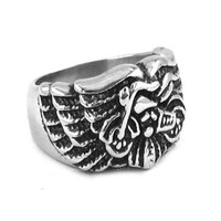 MOTORCYCLE WINGS BIKE RING