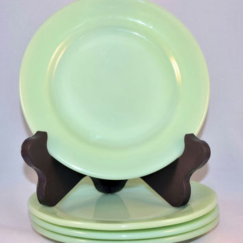 Fire-King Jade-ite Restaurant Ware Salad Plate 1950-1956