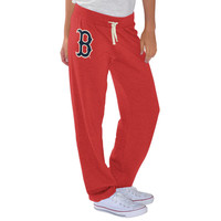 Boston Red Sox G-III 4Her by Carl Banks Women's Scrimmage Pants - Red -