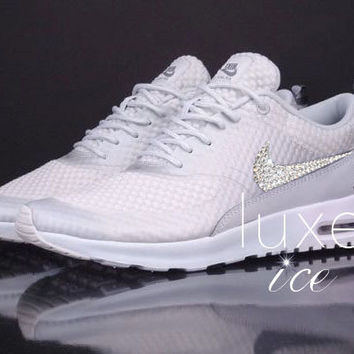 Nike Air Max Thea Premium w Swarovski Crystals detail - Light Base Grey Cool  Grey Meta e53852212