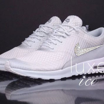 Nike Air Max Thea Premium w/Swarovski Crystals detail - Light Base Grey/Cool Grey/Metallic