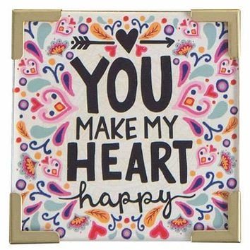 You Make My Heart Happy Magnet By Natural Life