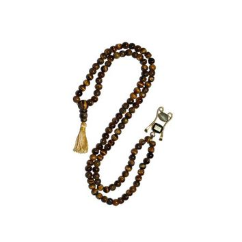 Mogul Buddhist Prayer Beads Tiger Eye Healing Stones Powerful Chakra Yoga Necklace - Walmart.com