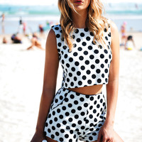 Polka Dot Shorts | SABO SKIRT