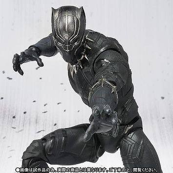 Black Panther Movable Action Figure FREE SHIPPING!!!!