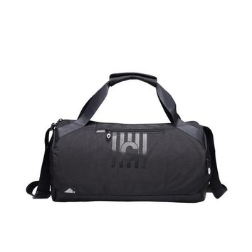 Sports gym bag Large Capacity Simple Style Gym Bag Cylindrical Fitness  Men Women Portable Training Handbag Travel Shoulder Bag Bolsa KO_5_1