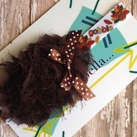 Gobble gobble turkey stretch headband perfect for Thanksgiving or photo prop
