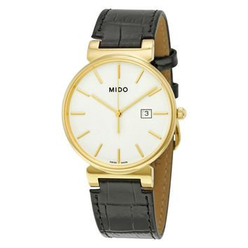 Mido Caballero White Dial Mens Watch M0096103601100