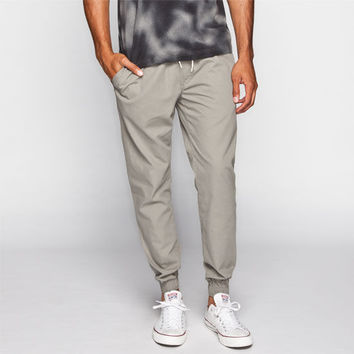 Vans Chevron Mens Jogger Pants Grey  In Sizes