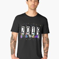 'New Years Odometer Party Hats' Men's Premium T-Shirt by Gravityx9