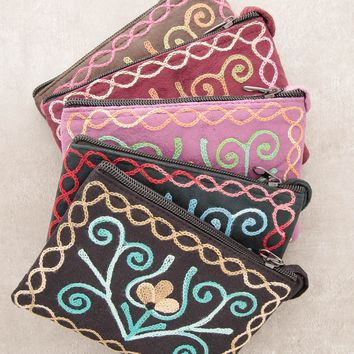 Nepalese Lotus Pouch