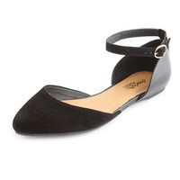 Ankle-Strap Pointy Toe Flat: Charlotte Russe