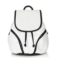 Patent Mini Backpack - Bags & Purses  - Bags & Accessories