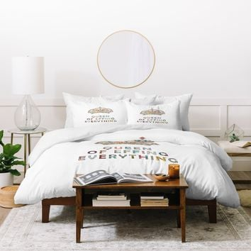 Bianca Green Her Daily Motivation Duvet Cover