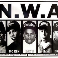 NWA Most Dangerous Group Poster 24x36
