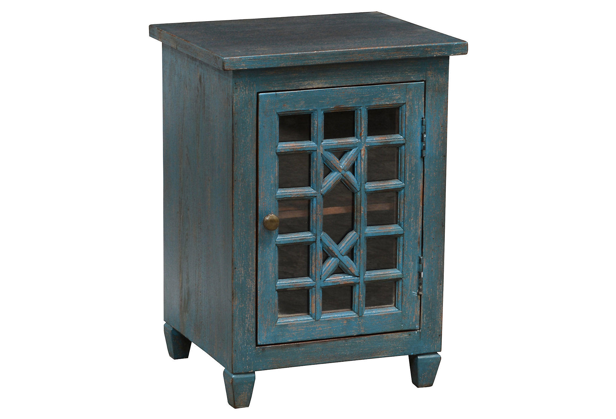 Leane Nightstand Teal Nightstands from e Kings Lane