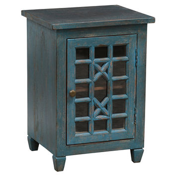 Leane Nightstand, Teal, Nightstands