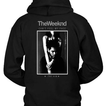 ESBH9S The Weeknd The Him Remix Hoodie Two Sided