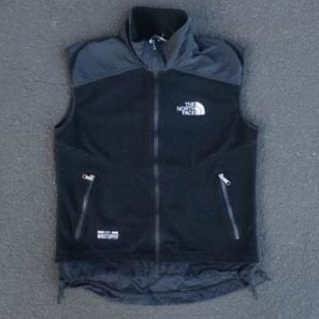 Vintage 90s North Face Gore Windstopper Vest Size M Black Winter Ski Snow