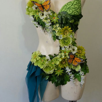 Forest Fairy Monokini- Reserved for Baxter