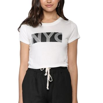 Sunday Stevens NYC Crop Tee
