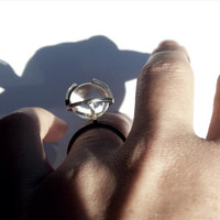 Planetoid Contemplation Ring   mecurialist