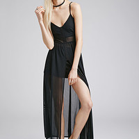 Sheer Cami Maxi Dress