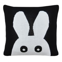 MiniWilla Cushion Cover Hello Black - Leo & Bella
